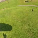 パラグライダー半日体験中に見える画像